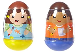 Weebles Art Girls & Boy Kids 2 Pack