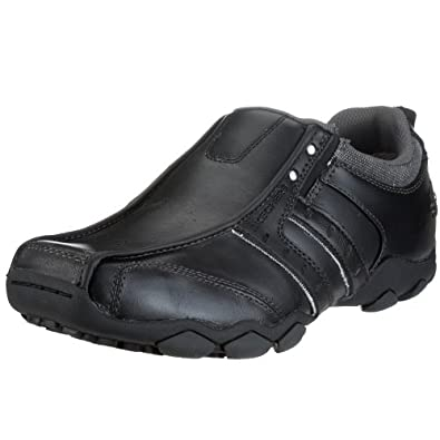Skechers Heisman, Men Loafers, Black (Black), 6 UK (39 1/2 EU)