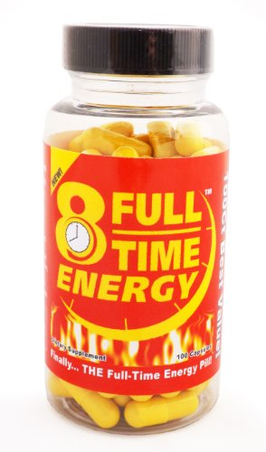Full-Time Energy Pills - Best Natural Energy Booster Supplement for ...