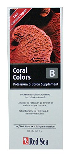 Red-Sea-Reef-Coral-Colors-B-Complexe-de-Potassium-pour-Favoriser-Couleur-Rouge-des-Coraux-500-ml