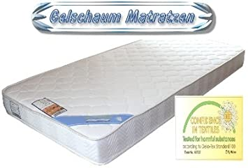 7 Zonen Gelmatratze Gelschaum Matratze 90 x 200