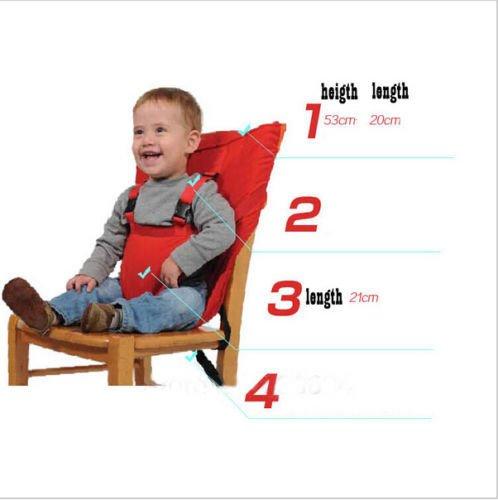 BOTEK Sicherer Reise Ess Stuhl Klappbarer Tragbarer Sitz