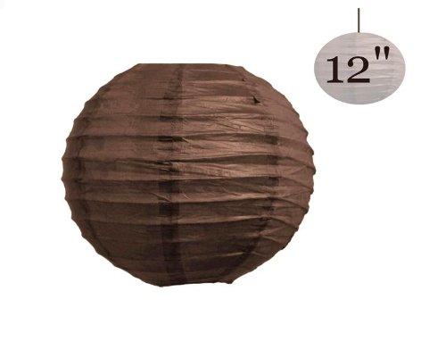 Chocolate Brown Lamp Shades