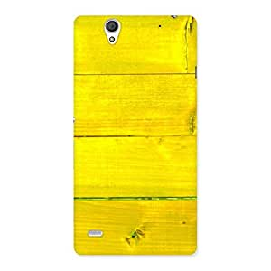 Yellow Wood Backyard Back Case Cover for Sony Xperia C4