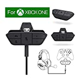 Stereo Headset Adapter, Headphone Converter for Xbox One Game Controller