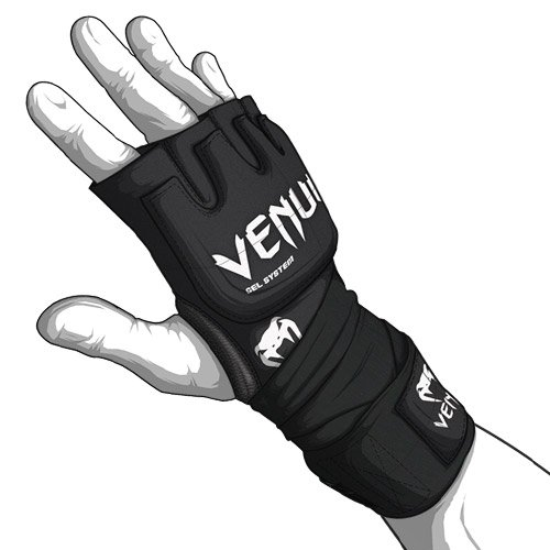 Venum MMA Contact Shock Gel Glove Hand Wraps