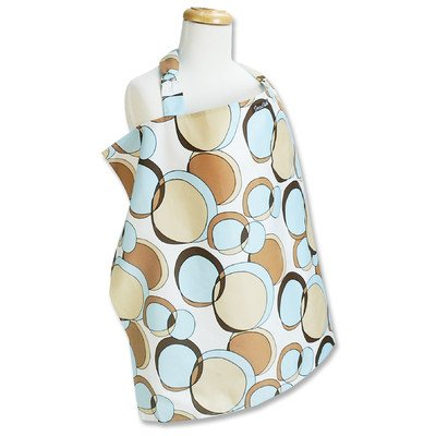 Buy Trend Lab Bubbles Teal Nursing Cover, Blue