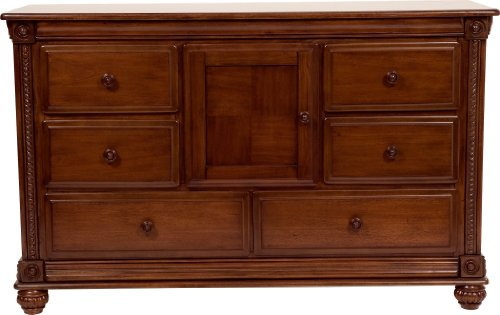 Cheap Simmons Kids Furniture Mendocino Combo Dresser, Deep River Cherry (258170-28)