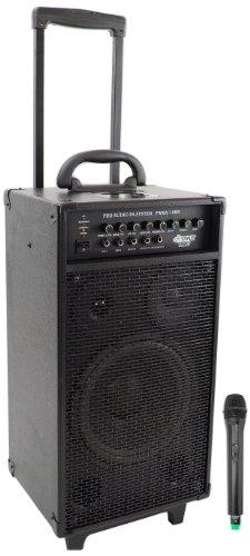 Pyle-Pro Pwma1080I 800 Watt Vhf Wireless Portable Pa System/Echo W/Ipod Dock