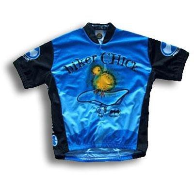 Buy Low Price Biker Chick Short Sleeve Women's Cycling Jersey (B000277XF6)
