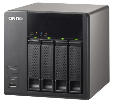 QNAP TS-412/8TB 4-bay - 8TB - NAS Solution (4x 2TB HDD Installed)