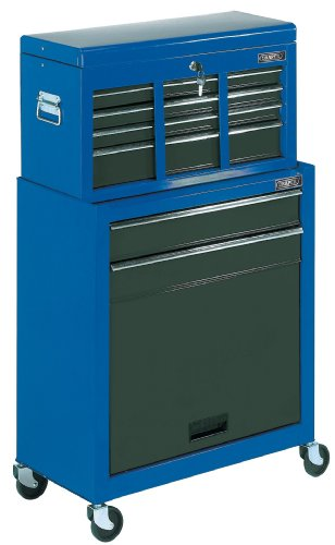 Draper 78229 Combined 2-Drawer Roller Cabinet and 6-Drawer Tool Chest