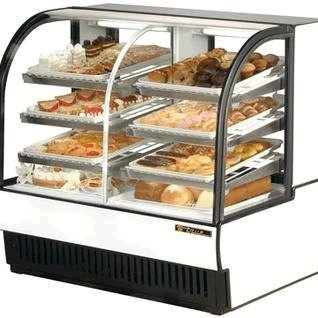 True White Dual Zone Refrigerated/Dry Bakery Display Case - TCGDZ-50