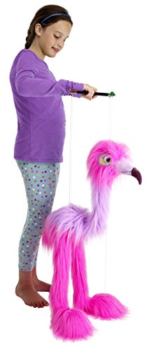 The-Puppet-Company-Marionette-Giant-Birds-Flamingo