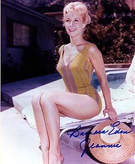 BARBARA EDEN (I Dream of Jeannie) 8x10 Celebrity Photo Signed In