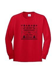 Christmas T Shirt Immitation Reindeer Snowflake