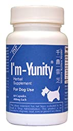 I\'m-Yunity® for Dogs (Regular Size 60 Capsules)