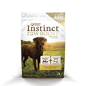 Nature's Variety Instinct Raw Boost Chicken 23.5lb Dog Food