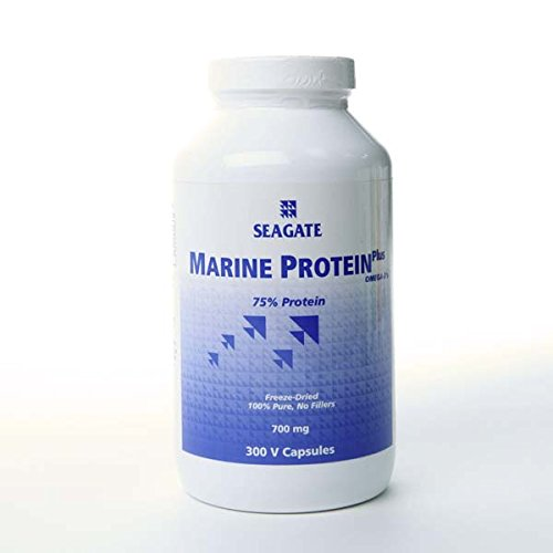 Marine Protein Plus Omega-3'S By Seagate , 700 Mg - (300 Veg Capsules)