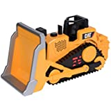 Toy State Caterpillar Construction Job Site Machines: Bulldozer (Styles May Vary)