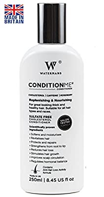 Condition Me' Hair Growth Conditioner Sulfate Free, Cholesterol, Caffeine, Rosemary - All Types of Hair - Unisex Anti-hair Loss Activity Formula - Helps Control Frizz and Protects from heat.
