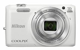 Nikon デジタルカメラ COOLPIX S6800 12倍ズーム 1602万画素 ナチュラルホワイト S6800WH