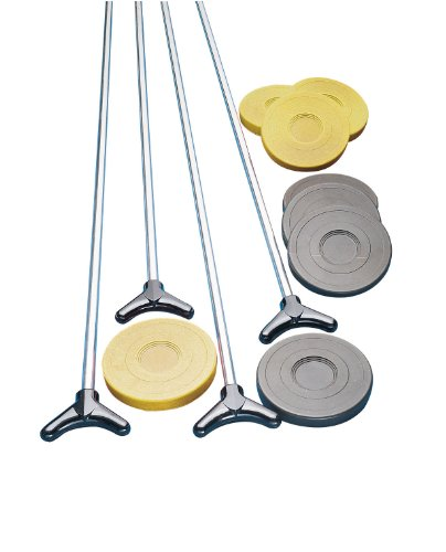 Find Bargain Champion Sports Outdoor Shuffleboard Cue and Puck Set