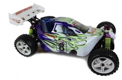 RC Nitro Cars Remote Radio Controlled Fast Nitro Buggy / Truggy 1:10 Scale Cyclone Thunder 18 cxp 8101
