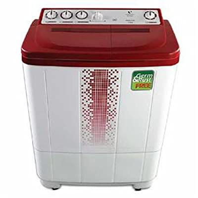 Videocon VS72H12 Gracia Plus Semi-automatic Top-loading Washing Machine (7.2 Kg, Dark Maroon)
