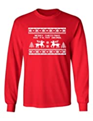 Festive Threads Christmas Sweater T Shirt