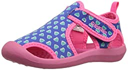 OshKosh B\'Gosh Aquatic-G Water Shoe (Toddler/Little Kid), Blue/Pink, 5 M US Toddler