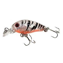 Futaba 4.5cm 4g fishing lure Steel ball Swimming Depth 0.1m-0.3m - Orange