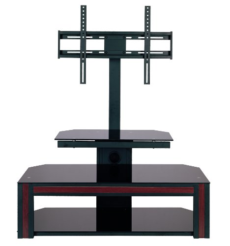 buy low price home source industries tv11259 modern tv stand with mount and shelving for. Black Bedroom Furniture Sets. Home Design Ideas