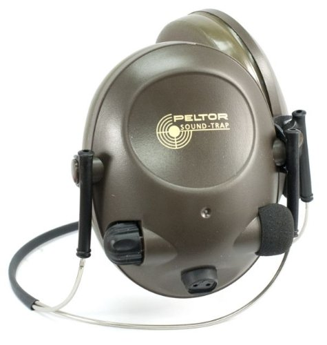 3M(Tm) Peltor(Tm) Sound-Trap(Tm) Slimline Earmuff, Tactical Electronic Headset Mt15H67Bb, Neckband 1 Ea/Cs