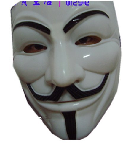 Cosplay mask V For Vendetta mask for party mask for kids mask costume white mask