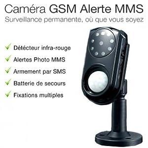 alarme2maison camera gsm de surveillance avec alerte sms mms et micro espion bricolage. Black Bedroom Furniture Sets. Home Design Ideas