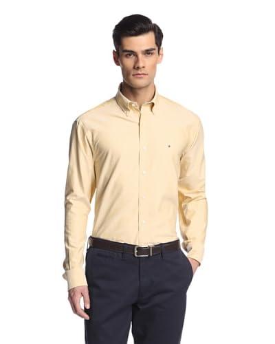 Tommy Hilfiger Men's Solid Oxford Dress Shirt