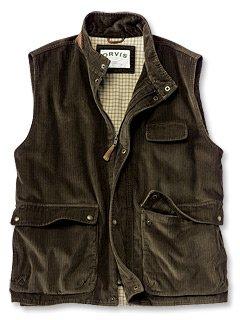 Corduroy Zip Vest - Buy Corduroy Zip Vest - Purchase Corduroy Zip Vest (Orvis, Orvis Vests, Orvis Mens Vests, Apparel, Departments, Men, Outerwear, Mens Outerwear, Vests, Mens Vests)