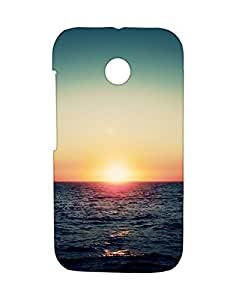 Mobifry Back case cover for Motorola Moto E XT1021 Mobile (Printed design)