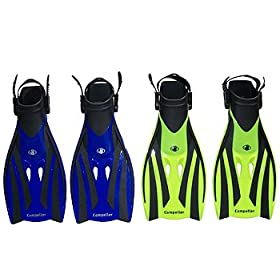Body Glove Compeller Fins for Snorkeling and Swimming Swim Snorkel Swimmer Travel Bodyglove AUTHORIZED DEALER = FULL WARRANTY