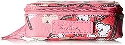 Vera Bradley Travel Pill Case 2.0 Pouch, Blush Pink, One Size