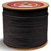 PolyPRO Black Rope - 3 Strand - 1/4