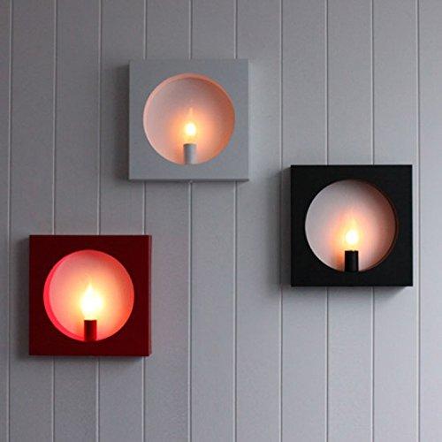 LINA-Weihnachten-Halloween-Geschenke-Moderne-und-einfache-Persnlichkeit-kreative-Schlafzimmer-Flur-Eingang-Flur-LED-eisernen-Bettgestell-quadratische-WandleuchteWei