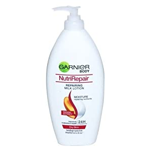 2 Pack Garnier Nutrirepair Lotion 400ml