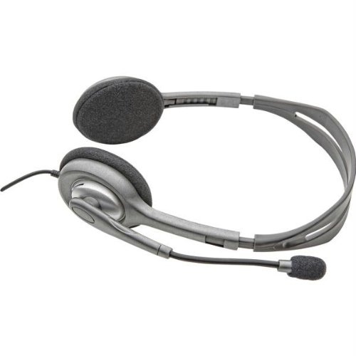 Headsets & Microphones-Logitech Stereo Headset H110