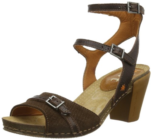 ART Womens I FEEL Roman sandals Brown Braun (MOKA-MUSTANG) Size: 40