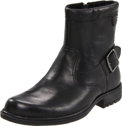 Rockport Men's Parkridge Buckle Black Zip Up Boot K57996   11.5 UK, 12 US