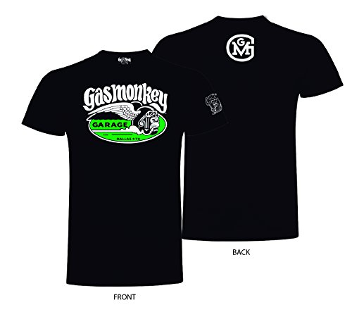 Gas Monkey Garage T-Shirt Cigar Monkey, Farbe:black;Größe:M