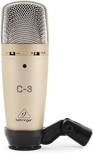 Behringer C-3 microfono a condensatore a doppia membrana