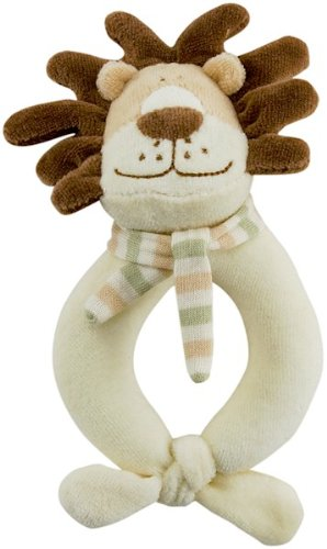 Rich Frog Happy Ring Rattle - Lion